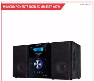 MINICOMPONENTE NOBLEX, CON BLUETOOTH USB CD MP3 Y CONTROL