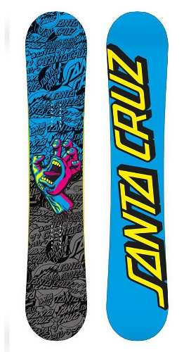 Snowboard Santa Cruz Screaming Hand Camber Santa Cruz Stw