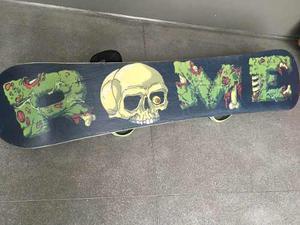 Tabla Snowboard Rome+ Fijaciones Burton Cartel