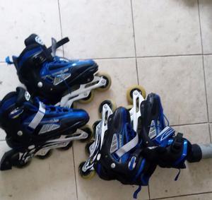2 pares de Rollers