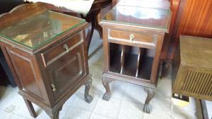 Antiguas mesas de estilo