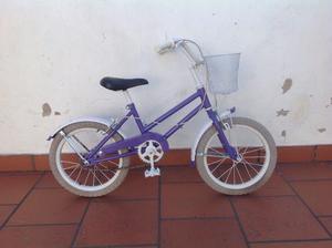 Bicicleta rodado 16 usada para niñas