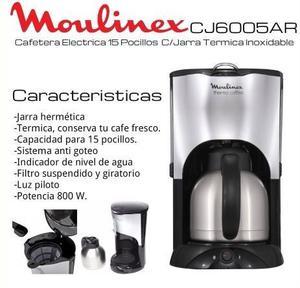 Cafetera Electrica C/ Jarra Termica 800w SIN USO