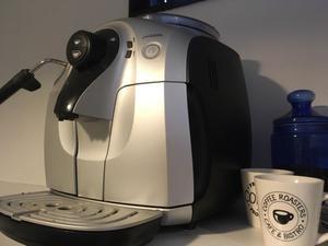 Cafetera express automática