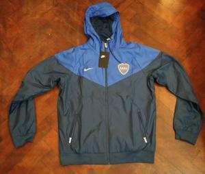 Campera Windrunner Boca Juniors  Talle L - Nueva Nike