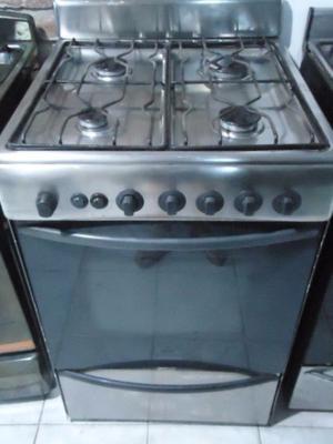 Cocina Longvie Acero Inoxidable C/ Encendido Electronico