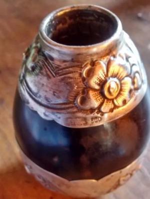 Mate de Plata y Oro sellado, muy antiguo. La Plata