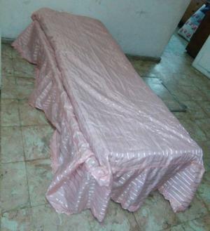 VENDO CAMA DE HIERRO 1 PLAZA con colchón