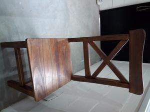 Vendo juego de comedor - pino macizo + 6 sillas cruz