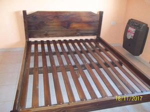 cama de dos plazas con colchon