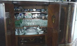 copas de cristal y antiguas lote 140 piezas