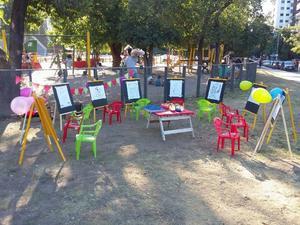 Alquiler de atriles para pintar-fiestas y eventos infantiles