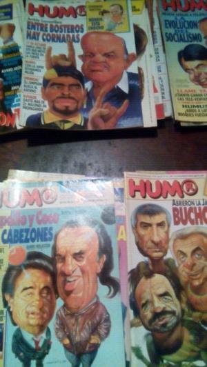 Antiguas revistas humor