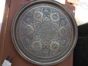 Bandeja,plato de bronce