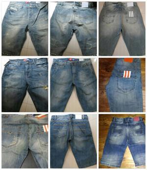 Bermudas de jeans de hombre