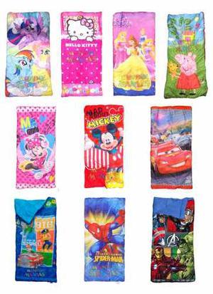 Bolsa De Dormir Infantil Disney Cars Kitty Pony Mundo Manias