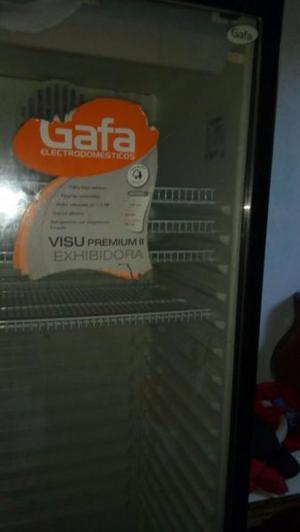 Heladera Exhibidora Vertical Gafa Visu Premium 2 Semi Nueva