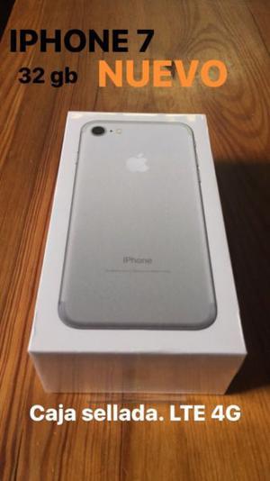 Iphone 7 -32gb- Silver. Nuevo. Caja sellada. Libre de