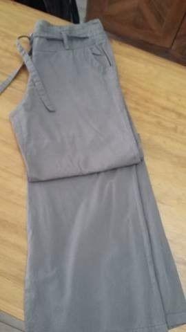 Pantalón de vestir VER talle L con lazo verde