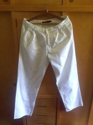 Pantalon Blanco Marca Kevingston Talle 46
