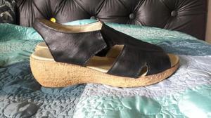 Sandalias Negras Talle 38