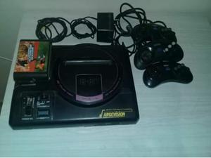 Sega original (retro) con sus accesorios y 2 juegos