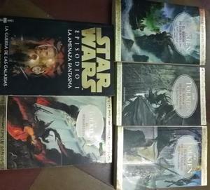 Vendo lote El Señor de los Anillos I II III y Star Wars I