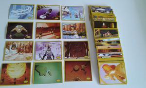 Vendo lote de 179 figuritas diferentes de avatar en perfecto