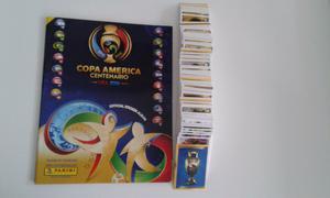 Vendo lote de 450 figuritas copa América centenario