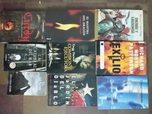 Vendo lote de 9 libros usados