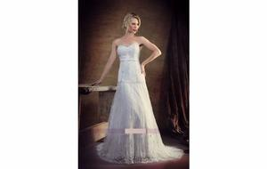 Vestido de novia o de quince o egresada, diseñado para