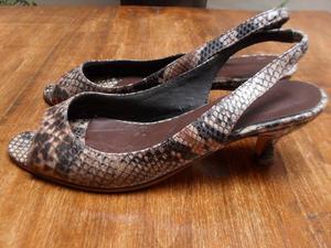 Zapatos Sarkany Animal Print Talle 37