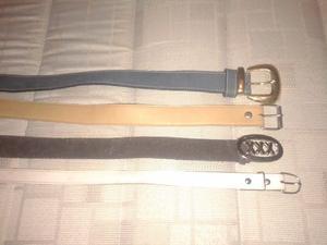 vendo lote de cinturones
