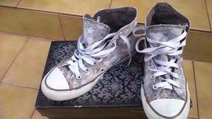 2 pares de zapatilla botitas mujer Converse All Star- Nº 36