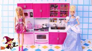 Barbie / Mueble De Cocina P/muñeca Barbie O Monster High