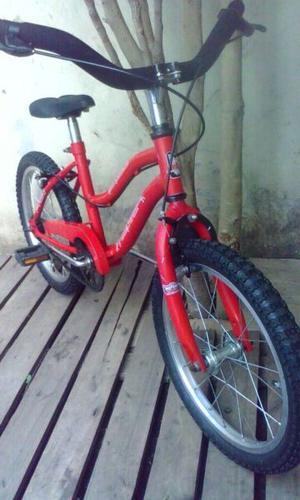 Bicicleta Unisex Rodado 16 Excelente Para Regalo!!