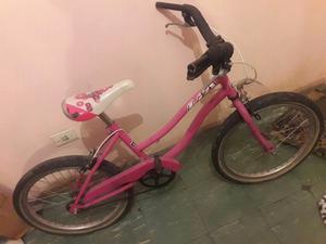 Bicicleta de niña rodado 20 en buen estado