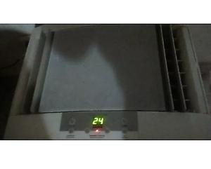 Excelente Aire Electrolux Con Control Remoto De  Frigf/s