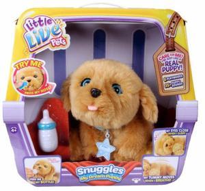 Mascota Interactiva Perro Little Live Pets Snuggles My Dream