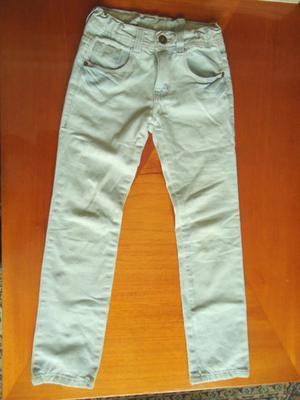 Pantalón de jean, celeste, para nena marca ZARA KIDS, talle