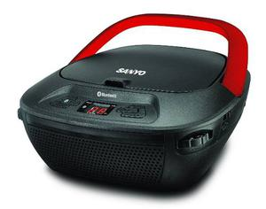 Radiograbador Bluetooth Usb Amfm Sanyo Mdxbt Env Gratis