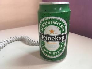 Telefono Lata Heineken!!! Hermoso!!! En Lanus!! =)