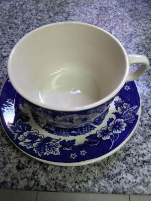 6 tazas de te lozadur posot class for Tazas porcelana