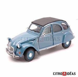 Auto Colección Juguete Citroën 3cv Azul Esc1:36 Metal