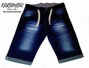 Bermudas de jeans de nene