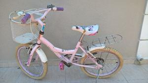 Bicicleta rod. 16 para Nena Usada con detalles
