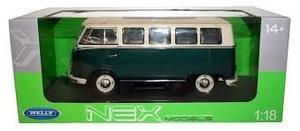 Camioneta A Escala Van Volkswagen T1 Bus 1:18 Lionels