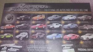 Coleccion Rapido Y Furioso La Nacion Charger Toretto Envios