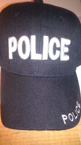 Gorra De Béisbol Sombrero De La Policía
