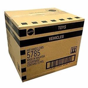 Hot Wheels Pack X 72 Autitos Coleccion Caja Cerrada Mattel